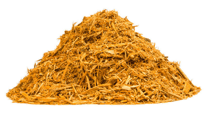 yellow mulch dye